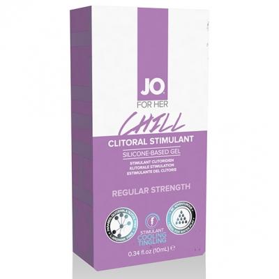 Возбуждающий гель для клитора System JO Chill, 10 мл