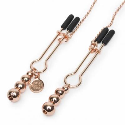 Интимные зажимы с цепочкой, All Sensation Nipple & Clitoral Chain