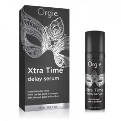 Сироватка-пролонгатор акту X-TRA TIME Delay Serum, 15 мл Orgie