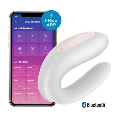 Вибратор для пар Satisfyer Double Joy