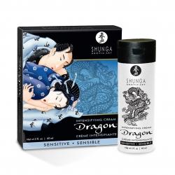 Возбуждающий крем для двоих Shunga Dragon Sensitive, 60 мл