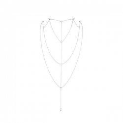Украшение для спины и декольте Bijoux Indiscrets Magnifique Back and Cleavage Chain - Silver