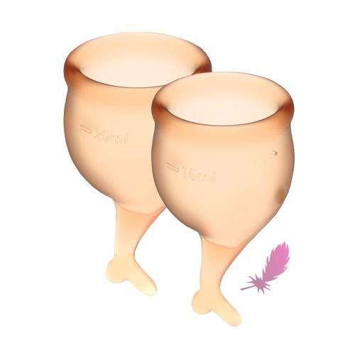 Набір менструальних чаш Satisfyer Feel Secure - фото1