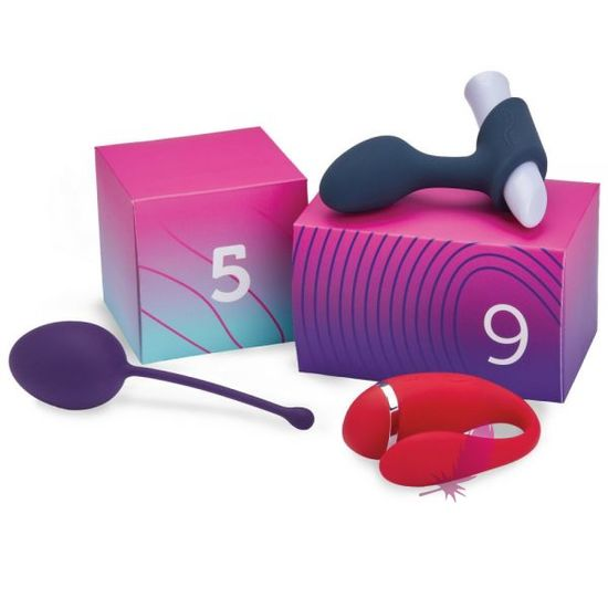 Набор We-Vibe Discover 10 Sex Toy Gift Box - фото3