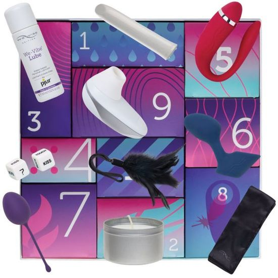 Набор We-Vibe Discover 10 Sex Toy Gift Box - фото4