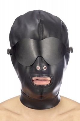 Закрытая маска с повязкой на глаза Fetish Tentation