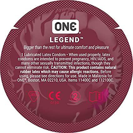 Презерватив ХЛ One Legend - фото0