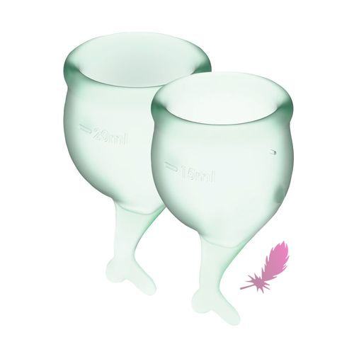 Набір менструальних чаш Satisfyer Feel Secure - фото4