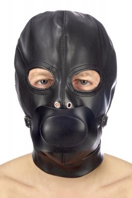 Закрытая маска с кляпом Fetish Tentation