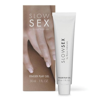 Гель для мастурбации  FINGER PLAY  Slow Sex  by Bijoux Indiscrets