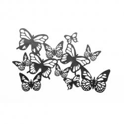 Эротическая маска на глаза BIJOUX Eyemask - Sybille (бабочки)