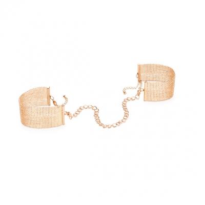 Металические наручники, Magnifique Handcuffs- Gold, Bijoux
