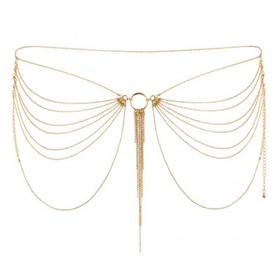 Эротические цепочки на попу Magnifique Gold Bijoux