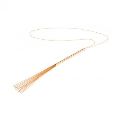 Цепочка с подвеской, металическая плеточка Bijoux The Magnifique