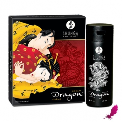 Возбуждающий крем для двоих Shunga Dragon, 60 мл