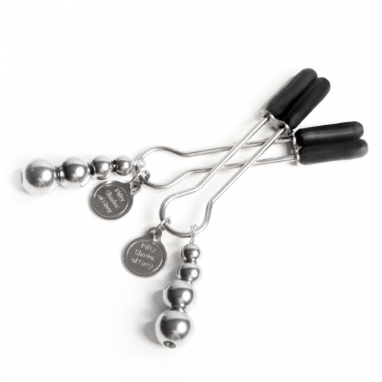 Зажимы для сосков Fifty Shades of Grey - Adjustable Nipple Clamps - фото0