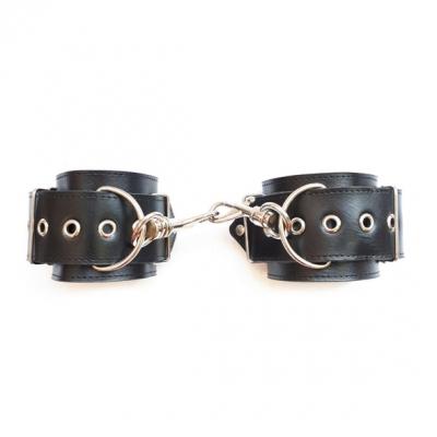 Кожанные наручники ручной работы