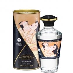 Согревающее масло для оральных ласк Shunga Aphrodisiac ваниль