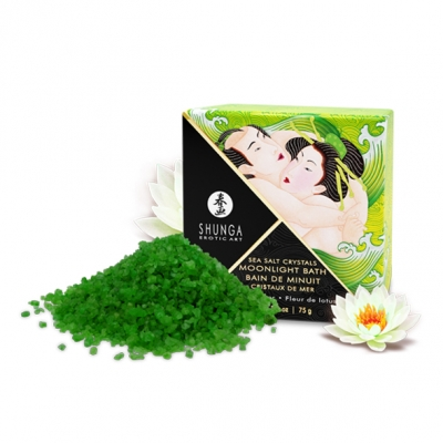 Cоль для ванны Shunga Moonlight Bath - Лотос