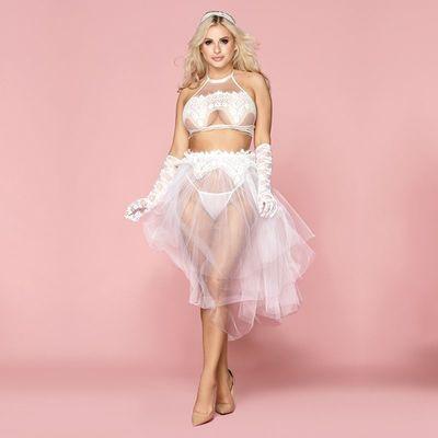 Эротическое свадебное платье Милана S/M