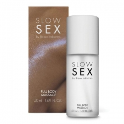 Гель для масажу всього тіла FULL BODY MASSAGE Slow Sex by Bijoux Indiscrets