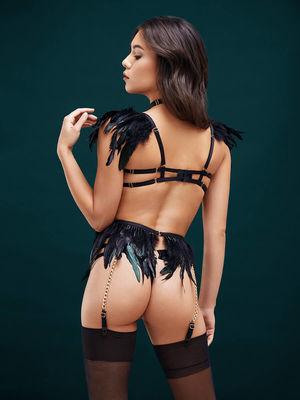 Эротический комплект Black Angel