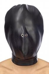 Закрытая маска Fetish Tentation Closed BDSM hood in leatherette