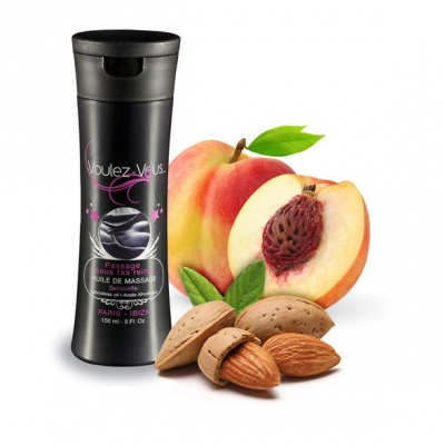 Массажное масло Voulez-Vous, миндаль-персик