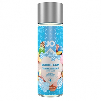 Съедобная смазка на водной основе System Jo со вкусом жвачки Bubble Gum