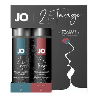 Набор возбуждающих смазок для пары SYSTEM JO - 2 TO TANGO COUPLES PLEASURE KIT