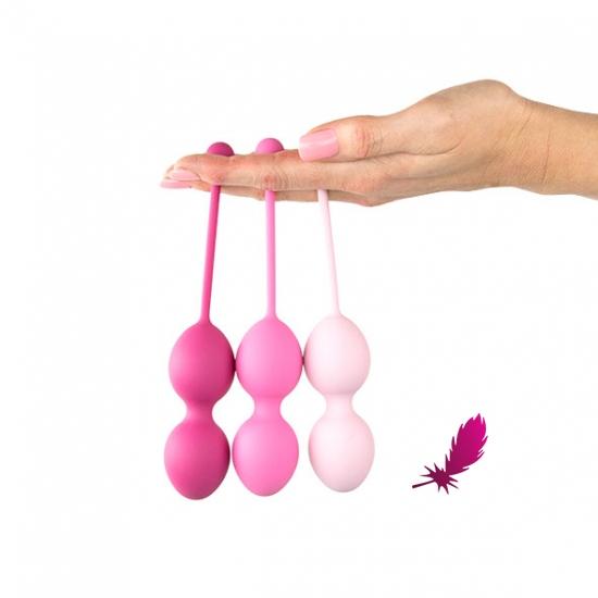 Набор вагинальных шариков Feelztoys - Femmefit Advanced Pelvic Muscle Training Set - фото2
