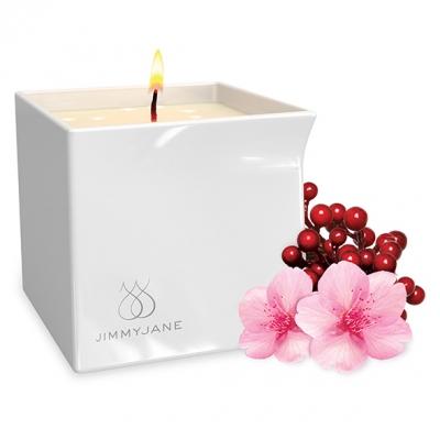 Массажная свеча Jimmyjane с ароматом Цветения ягод
