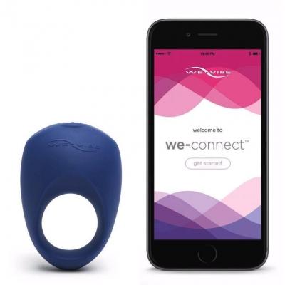 Эрекционное кольцо Pivot By We-Vibe Blue
