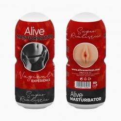 Реалистичный мастурбатор Alive Vaginal Experience RED