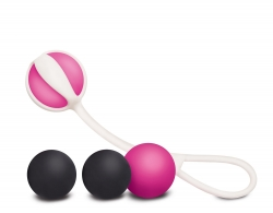 Вагінальні кульки на магніті Geisha balls Magnetic - Gvibe