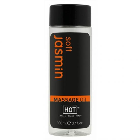 Масажне масло HOT з ароматом жасмину - фото0