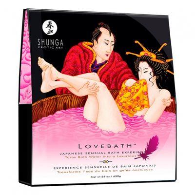 Гель для ванны LOVEBATH SHUNGA 650 гр