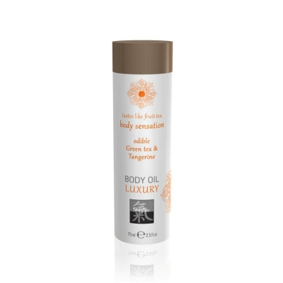 Їстівне масажне масло Luxury body oil