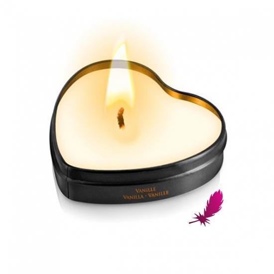 Массажные свечки сердечко Plaisirs Secrets - фото1