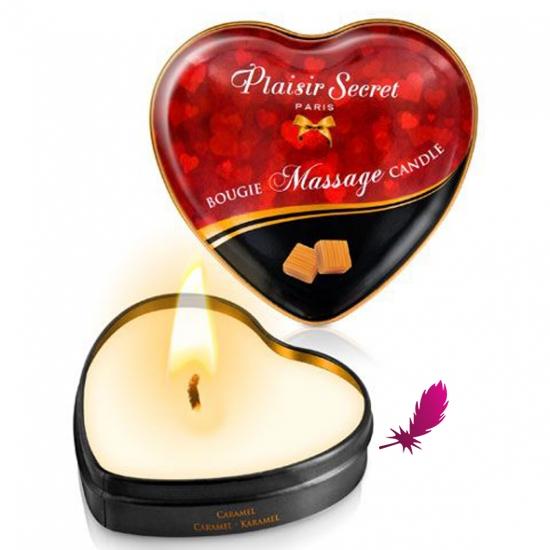 Массажные свечки сердечко Plaisirs Secrets - фото4