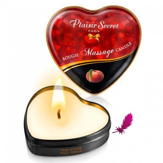 Массажные свечки сердечко Plaisirs Secrets - фото8