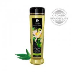 Смачне масажне масло Shunga, зеленый чай