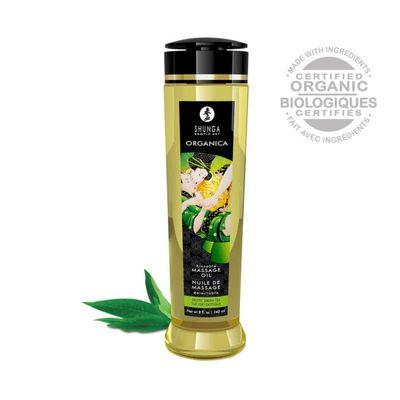 Органическое массажное масло Shunga ORGANICA со вкусом