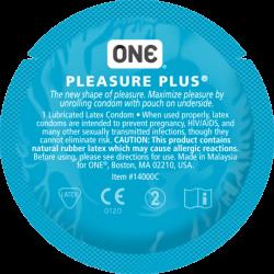 Презерватив One Pleasure Plus