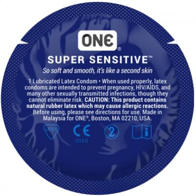 Презерватив классический One Super Sensitive