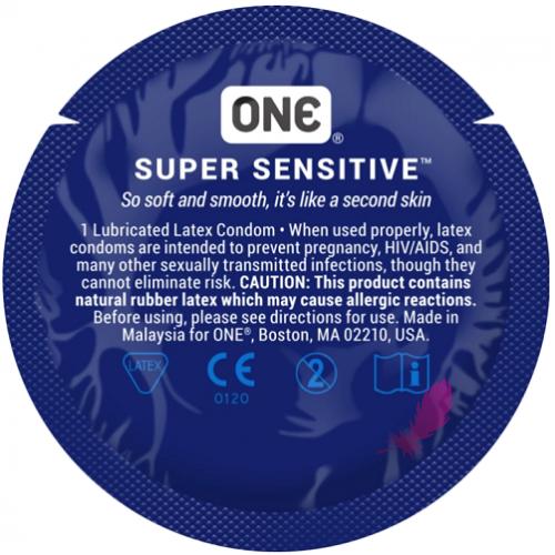 Презерватив классический One Super Sensitive - фото0