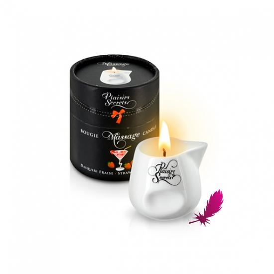 Массажная свеча Plaisirs Secrets - фото7