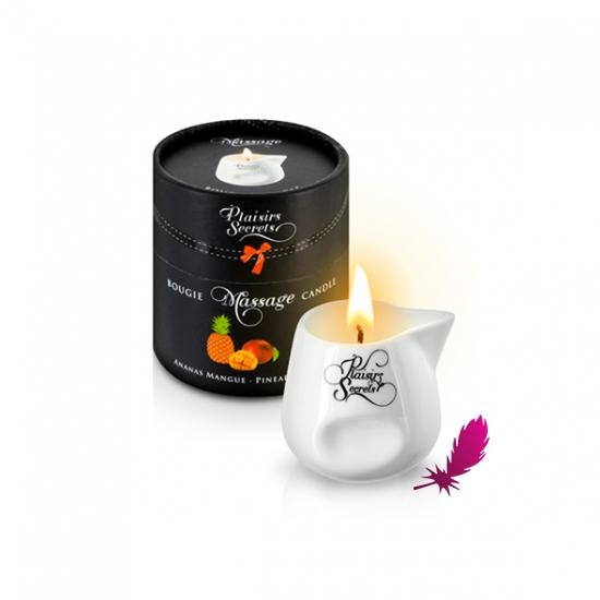 Массажная свеча Plaisirs Secrets - фото4