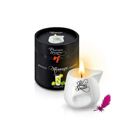 Массажная свеча Plaisirs Secrets - фото2