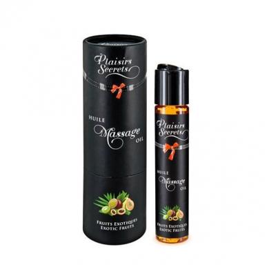 Массажное масло Plaisirs Secrets, тропики